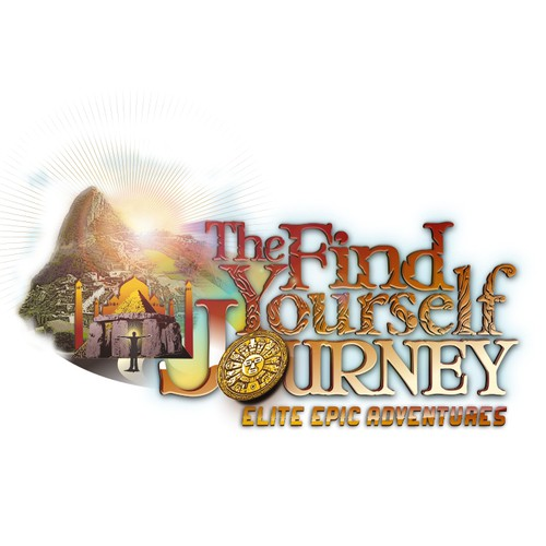 The Find Your Self Journey needs an eye capturing illustration logo..this one is really unique