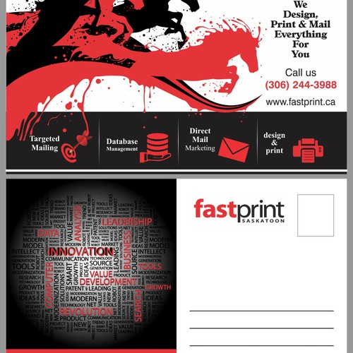 New postcard or flyer wanted for Fastprint