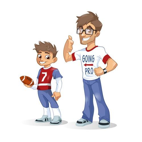 Sports mascot