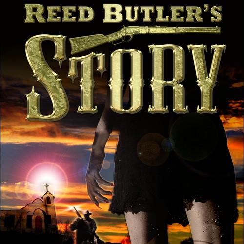 Book cover design for James  E Thomas