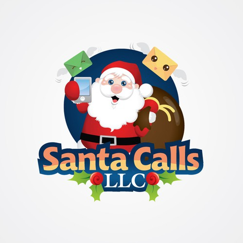 logo for Santa Calls LLC