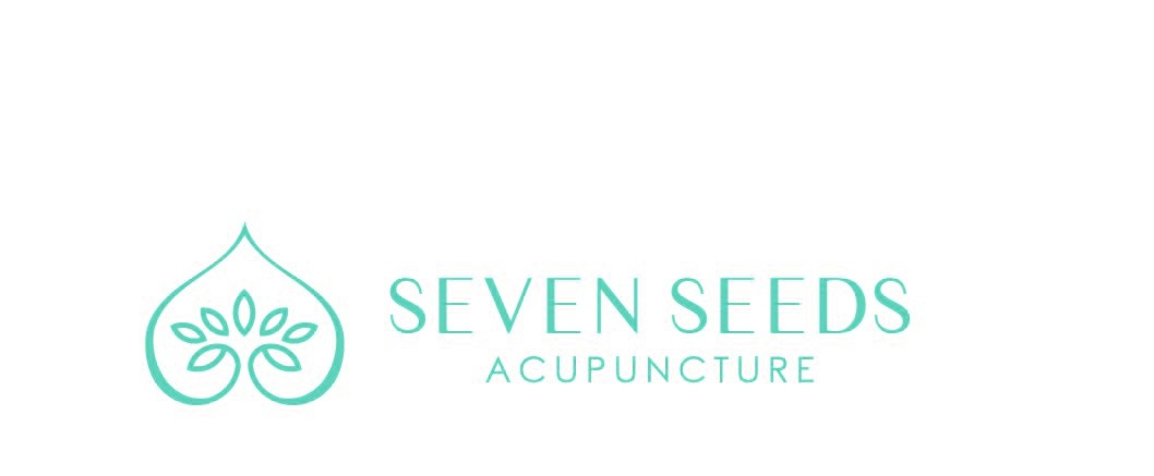 Create an elegant logo for Seven Seeds Acupuncture
