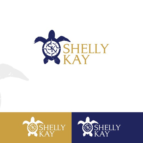 Logo concept for a boat charter service.