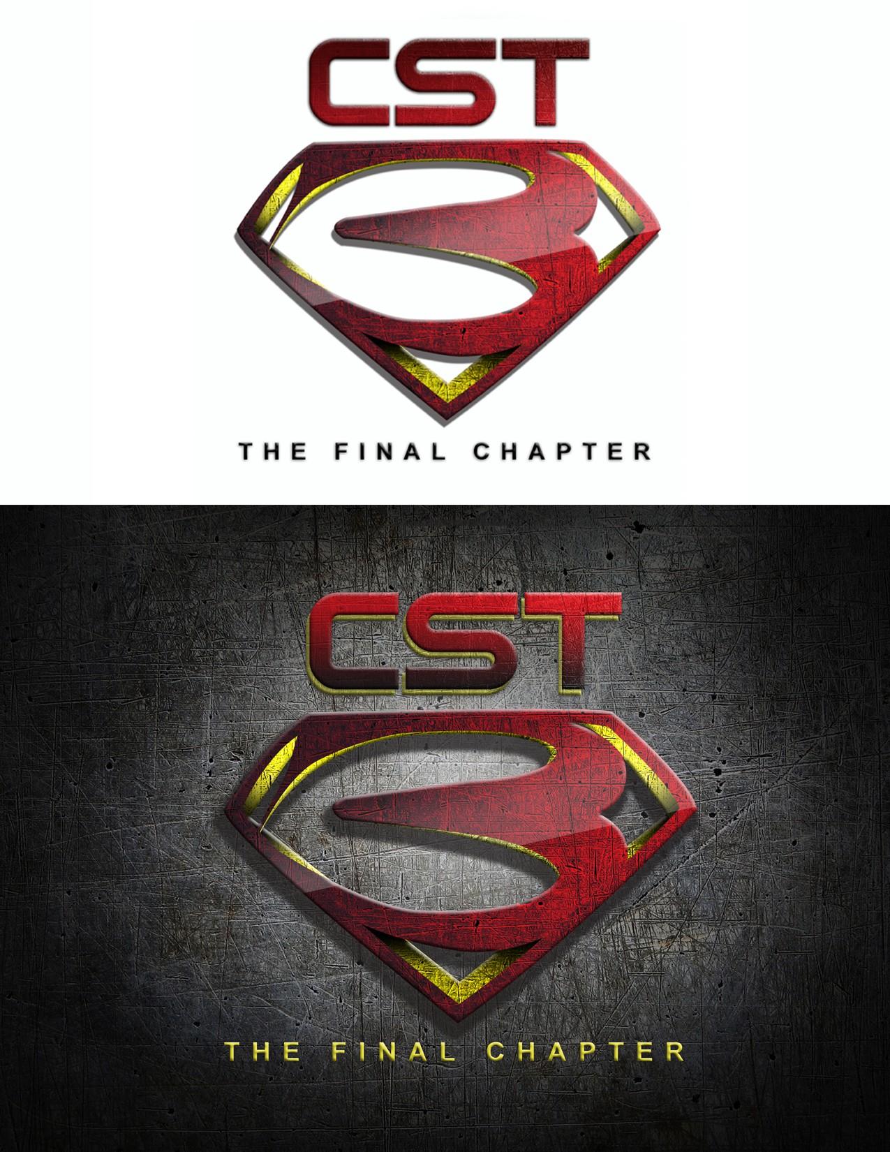 Create a Superman themed logo for a sports training program