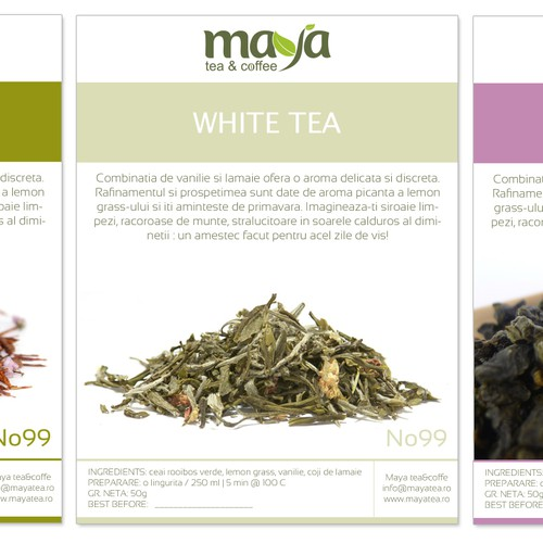 Create the next product label for Tea&cofee