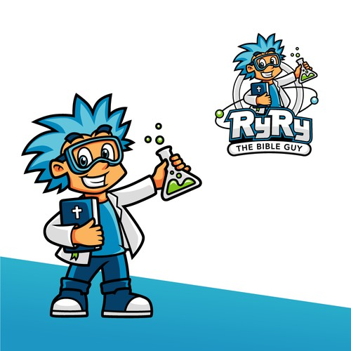 Character logo design for RyRy