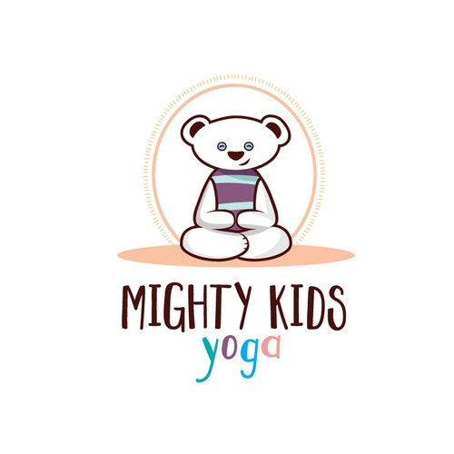 Kids Yoga Class Logo