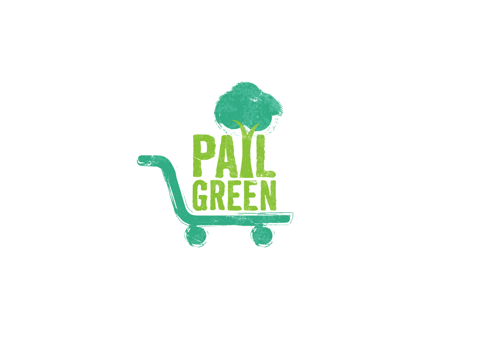 """Logo design for a new """"green"""" company: Pail Green"""