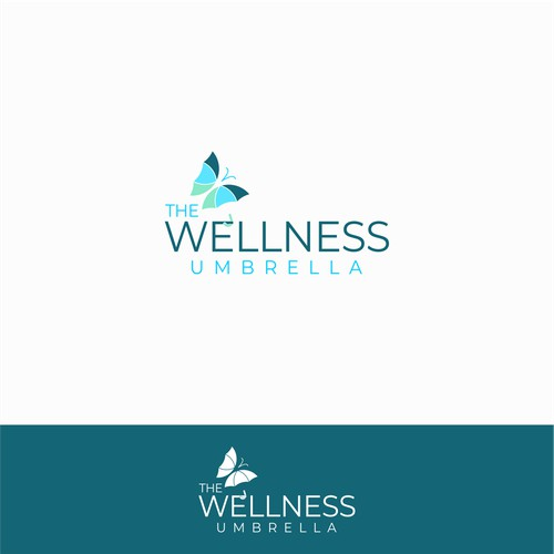 Logo concept for Welness Umbrella