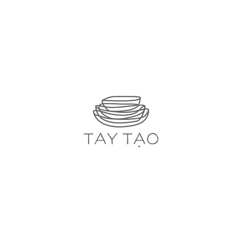logo for luxury Vietnamese boutique.
