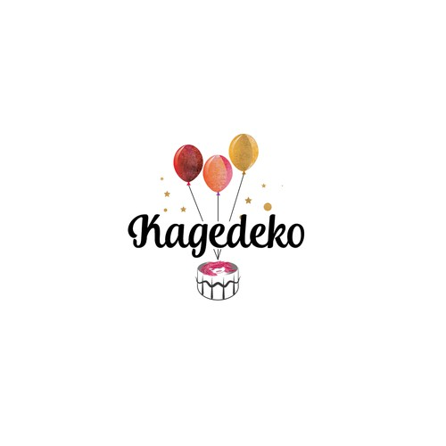 Colorful logo for cake photo co