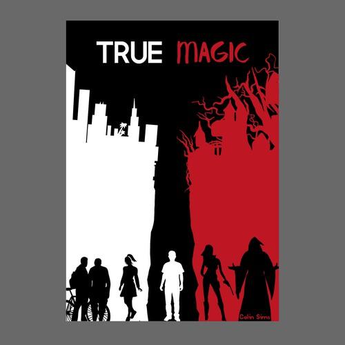 Ebook cover for new urban fantasy novel set in Hollywood!