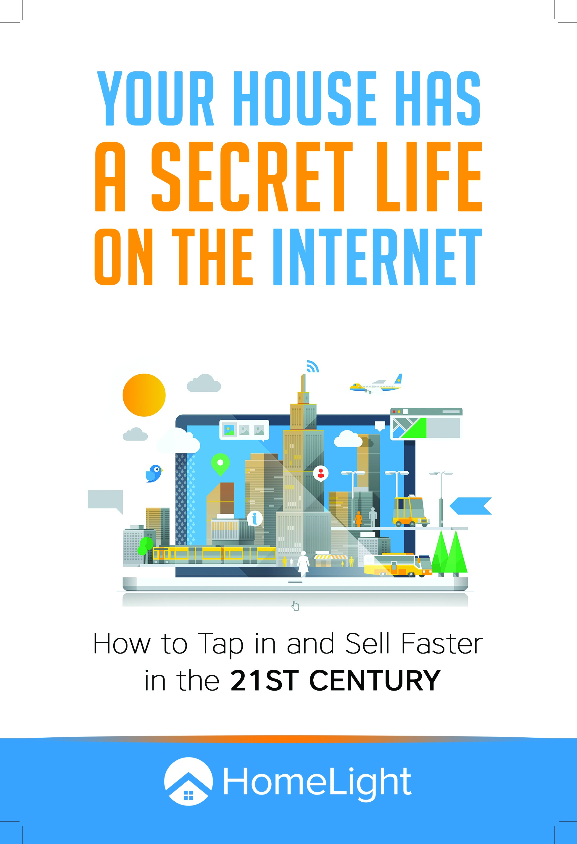 """Design E-Book Cover for """"Your House Has a Secret Life on the Internet"""""""