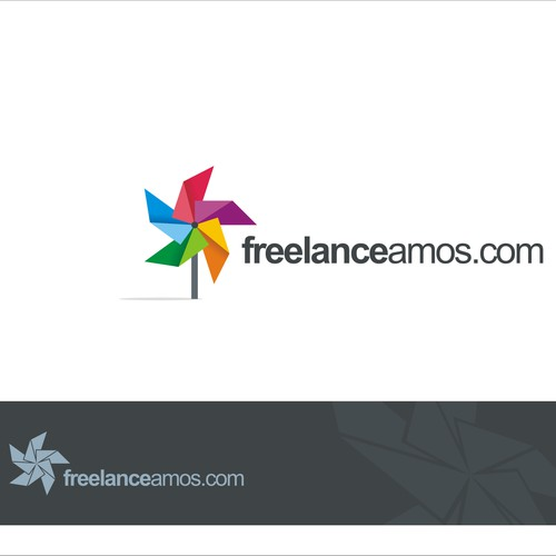 colorful logo for crowdsourcing website