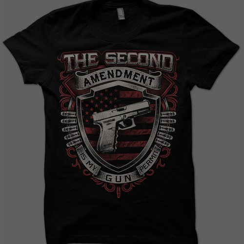 GUN T-Shirt - WINNER GUARANTEED #4