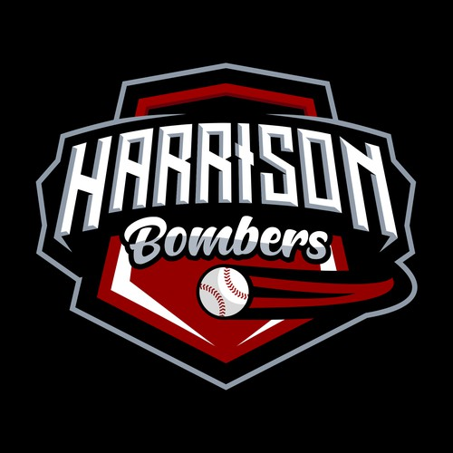 Harrisons Bombers Logo Designs