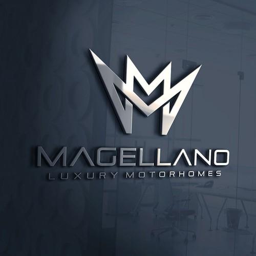 Logo Concept for Magellano Motorhome