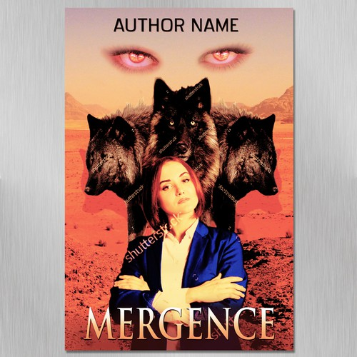 Mergence - Book Cover conest