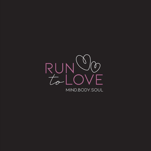 Run to love logo
