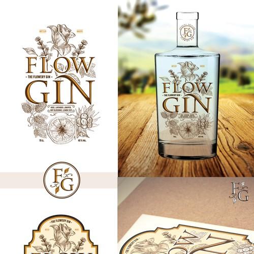 Flowery gin.