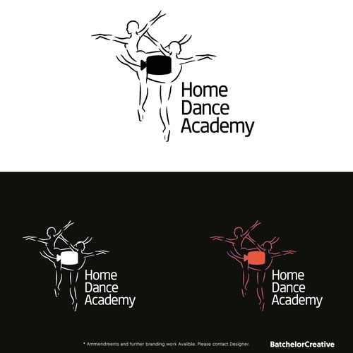 Online Dance School Logo - Concept