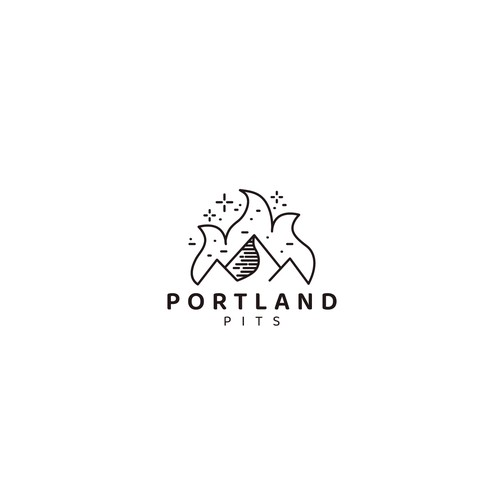 Logo design for Portland pits