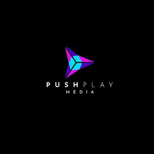 Logo Design for Push Play Media