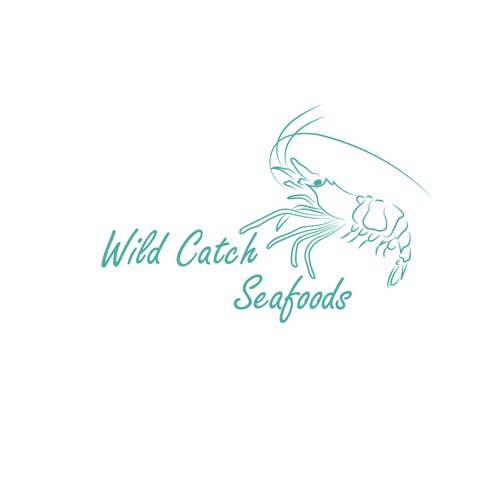 Fresh logo concept for seafoods