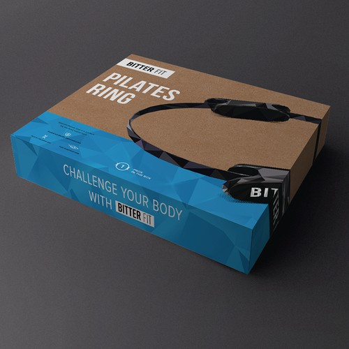 Pilates Ring packaging for Bitter Fit