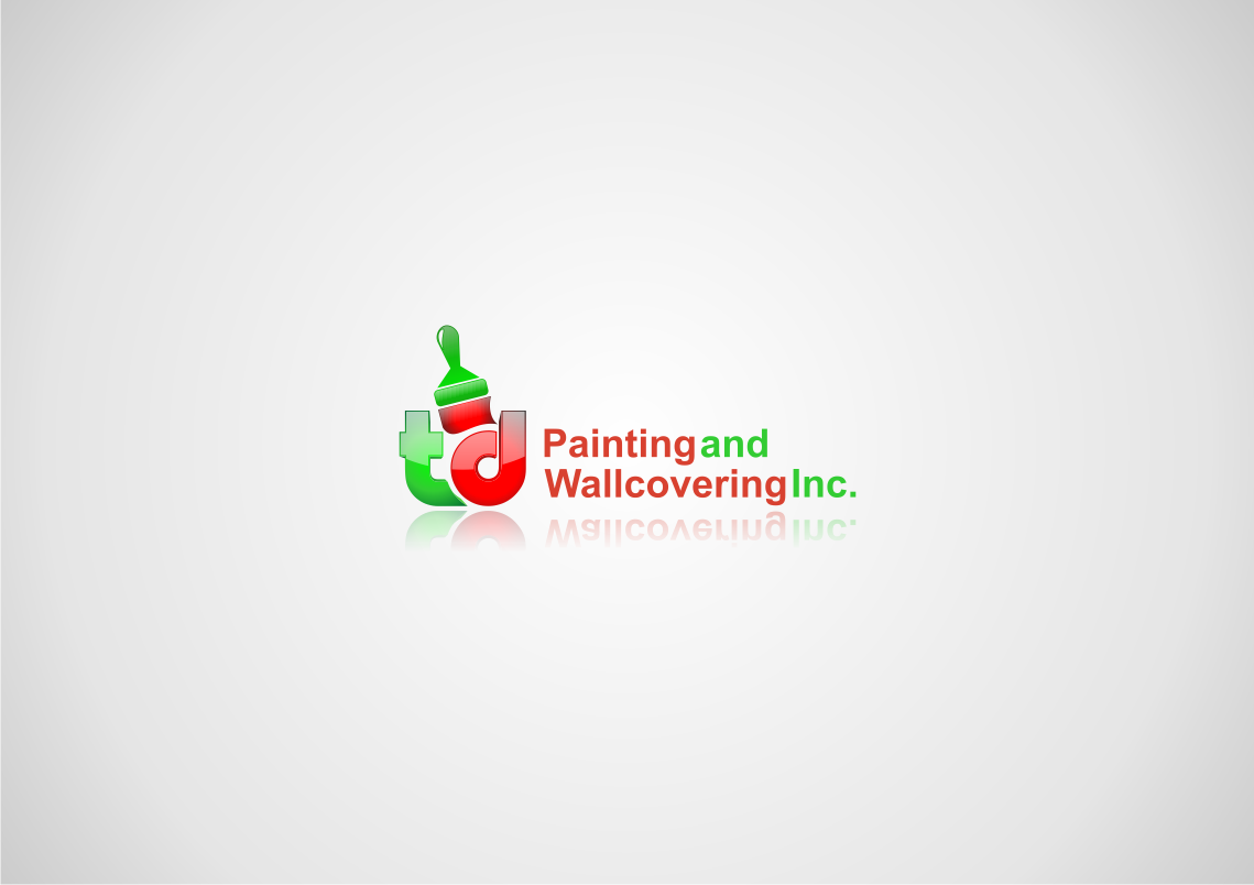 Help TD Painting and Wallcovering Inc. with a new logo