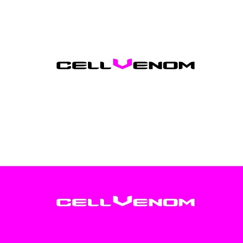 Make a logo tell the CELLVENOM technology story of safety, protection, and security