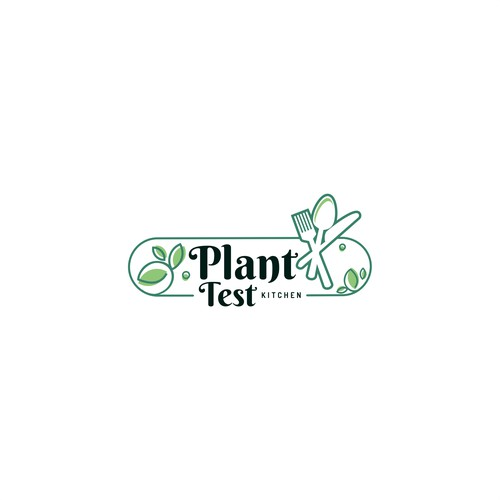 Logo for plant test