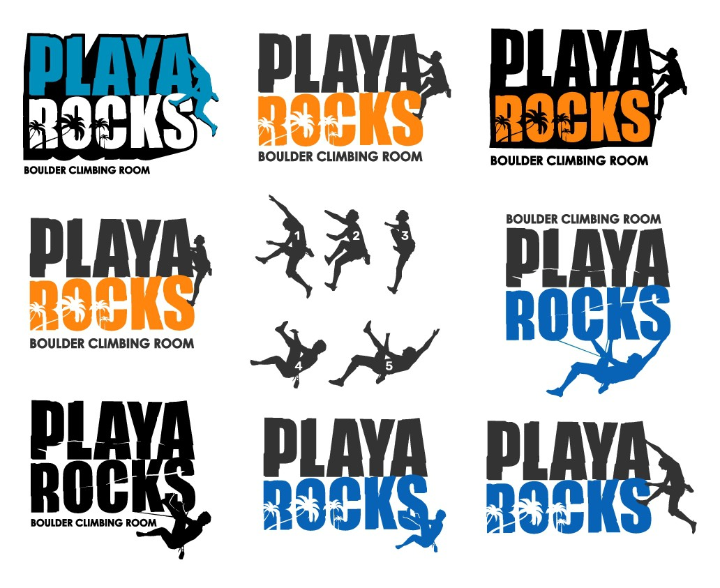 The 1st Boulder Climbing Room in the Mexican Riviera Maya needs impactful logo