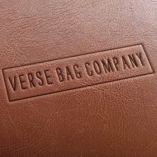 Simple logo for leather handbag company