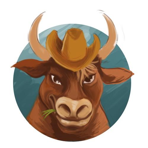 Illustration Bullhead