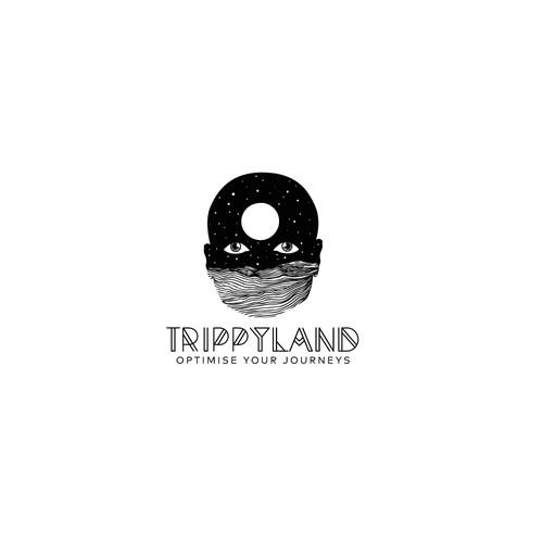 Bold logo concept for Trippyland