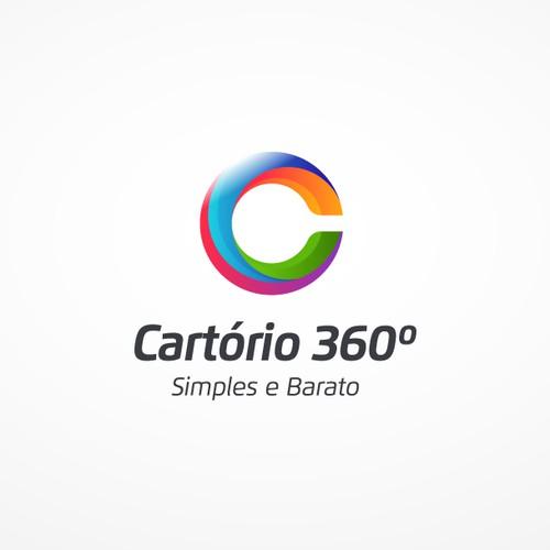 Cartório 360 Logo&Website