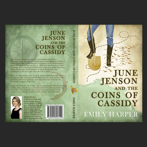 Cover for a book about treasure hunting