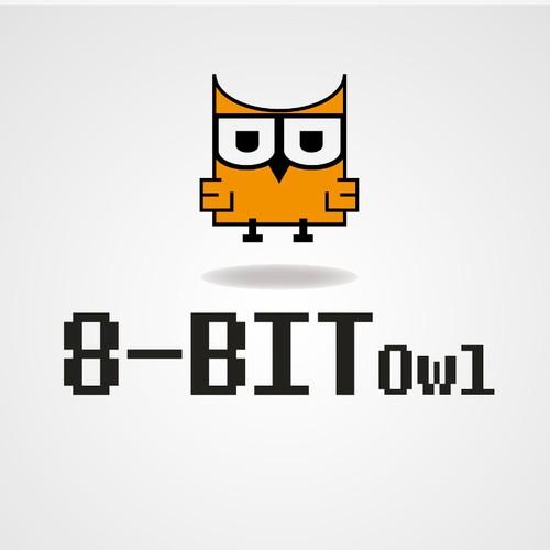 logo for 8-bit Owl, LLC