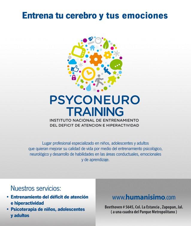 New banner ad wanted for PSYCONEURO TRAINING  INSTITUTO NACIONAL DE ENTRENAMIENTO DEL DEFICIT DE ATENCION  E HIPERACTIVIDAD