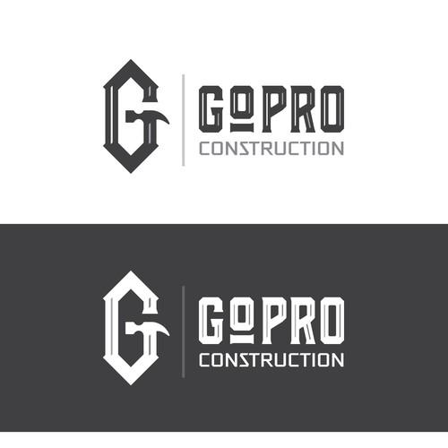 Logo concept for construction company