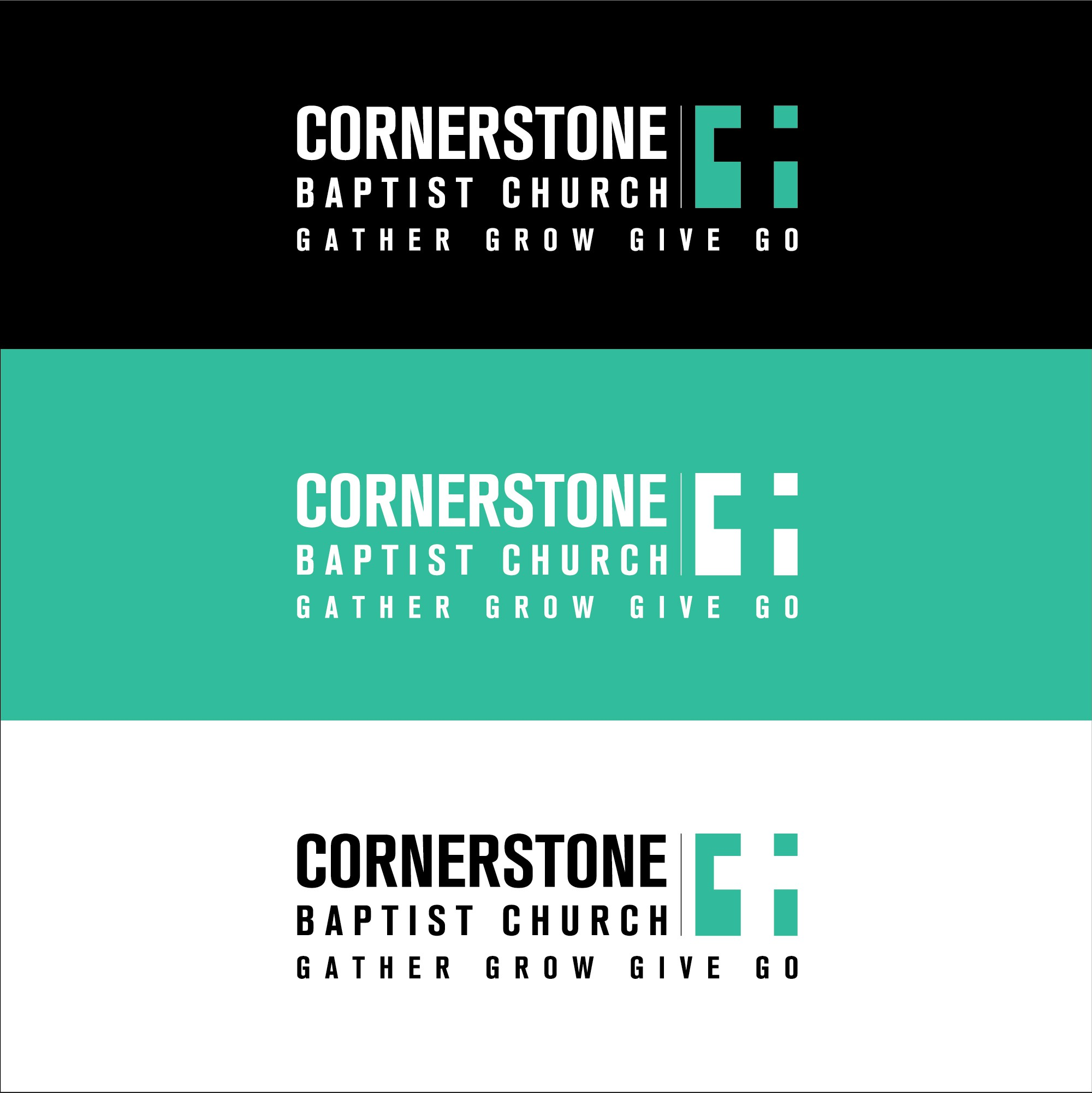 Design a church logo emphasizing...you guessed it, Jesus!