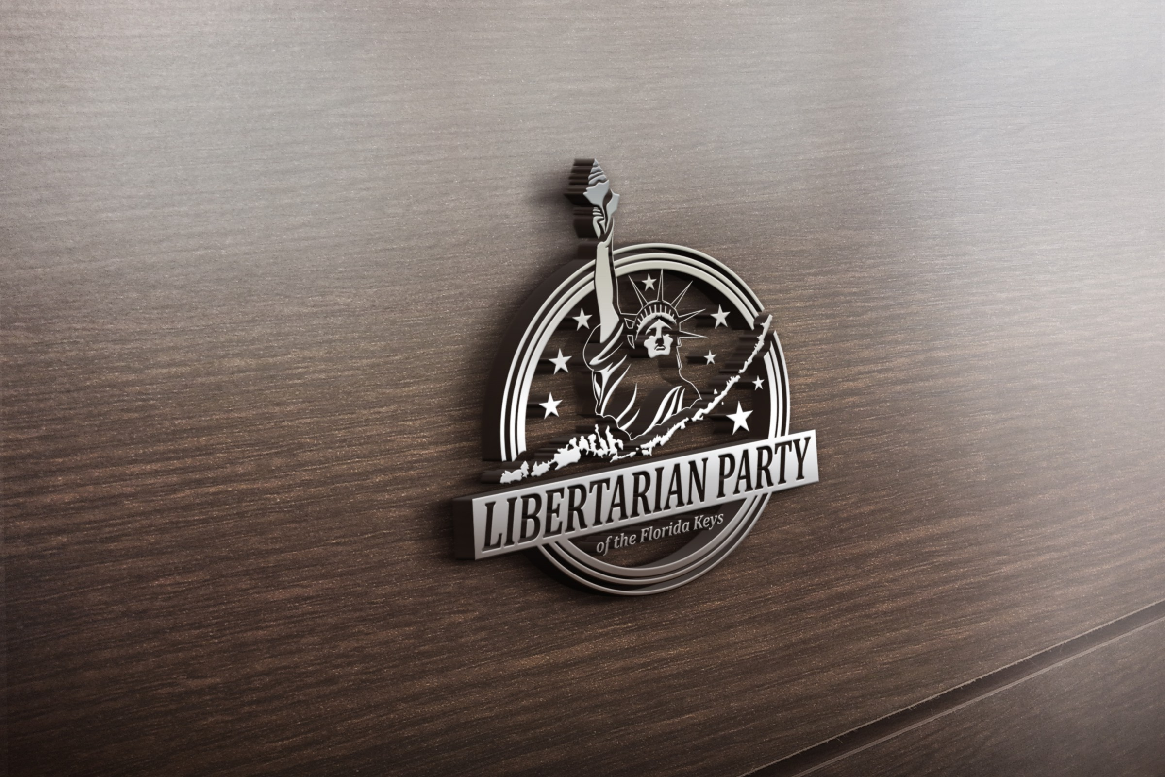 Create a logo for the Libertarian Party of Monroe County