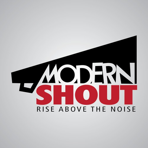 MODERN SHOUT:Rise above the Noise LOGO