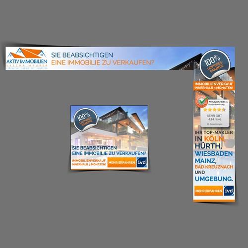 Flash Banner ad for Aktiv immobilien