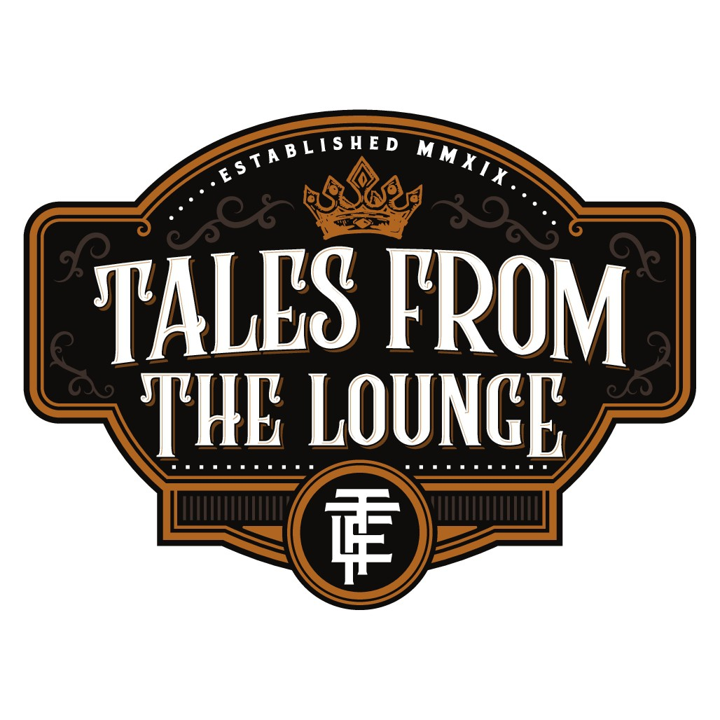 Tales From The Lounge - Funky Cigar Blog Logo Design