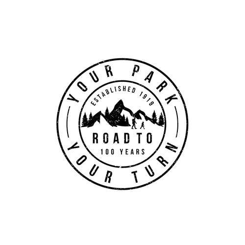 Logo for NPCA Anniversary 100