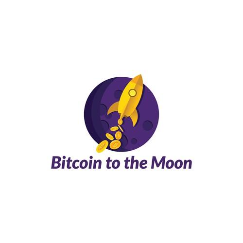 Concept logo design for a bitcoin firm