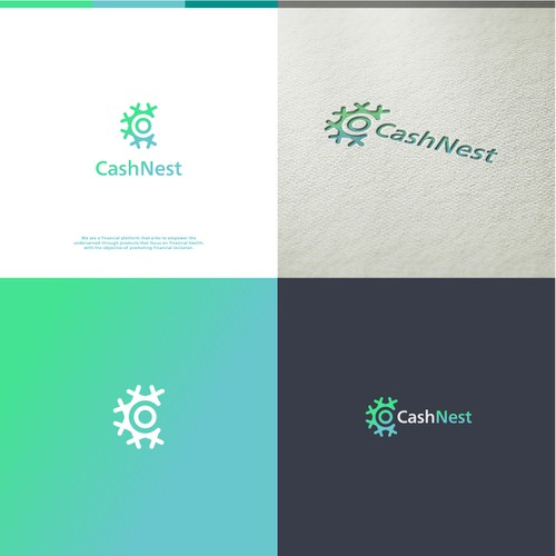 Logo and brand identity for Cash Nest