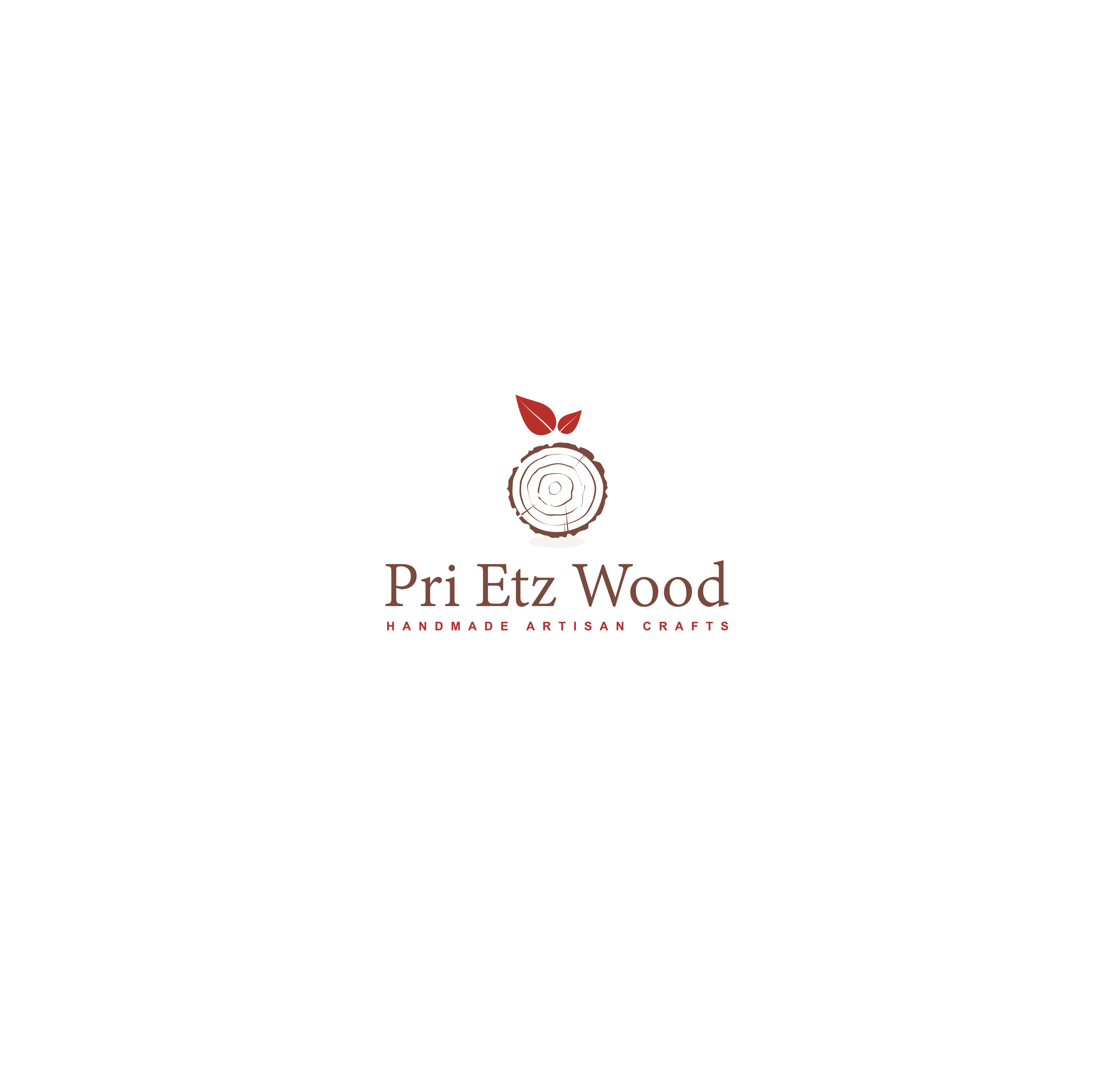 Create a unique logo for hand-crafted wood product line
